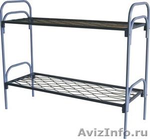 Кровати металлические для турбаз, кровати для гостиницы, кровати двухъярусные - Изображение #5, Объявление #1478840