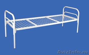 Кровати металлические для турбаз, кровати для гостиницы, кровати двухъярусные - Изображение #2, Объявление #1478840