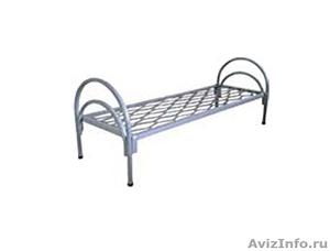 Кровати металлические для турбаз, кровати для гостиницы, кровати двухъярусные - Изображение #1, Объявление #1478840