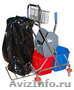 Уборочный инвентарь,  тележки,  расходные материалы для клининга.