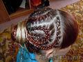 Африканские,  французские косички,  прически из кос.
