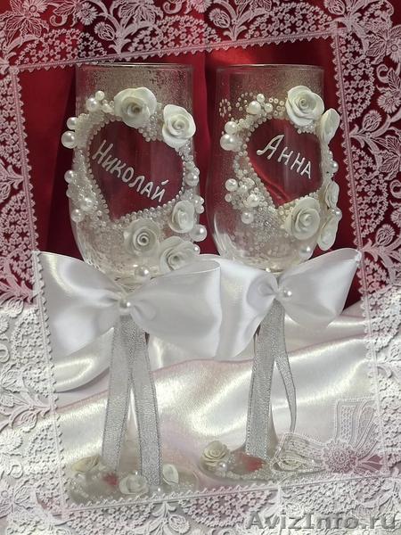Эксклюзивные свадебные аксессуары ручной работы - Изображение #3, Объявление #514108