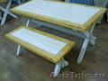 Столы из натурального дерева белого цвета 4 шт. в отличном состоянии Б/У